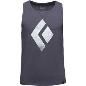 Black Diamond Chalked Up Tank Top Herren carbon
